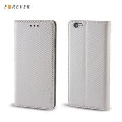 Kaitseümbris Forever Smart Magnetic Fix Book sobib Samsung Galaxy J5 (J500), hõbedane