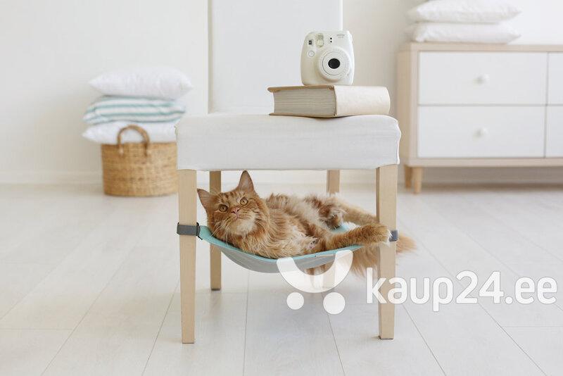 Võrkkiik lemmikloomale/esemetele Hide, helehall/helehall цена и информация | Asemed, padjad | kaup24.ee