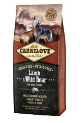 Kuivtoit koertele Carni Love Lamb & Wild Boar for Adult 12kg