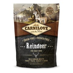 Kuivtoit koertele Carni Love Reindeer for Adult 1,5kg