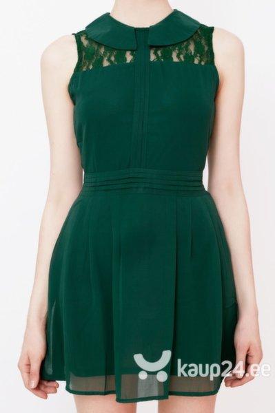 Naiste kleit migle + me, roheline цена и информация | Kleidid | kaup24.ee