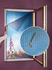 Putukavõrk aknale, must, 75x150 cm hind ja info | Rulood, kardinad, kardinapuud | kaup24.ee