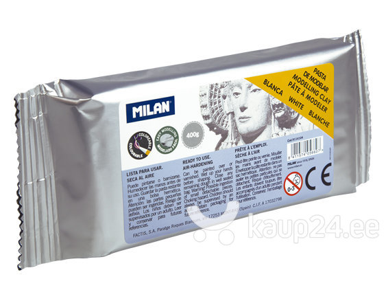 Modeleerimis materjal Milan 400g valge9114104