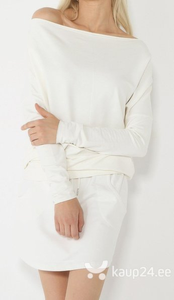Naiste pluus Diverse III, valge цена и информация | Naiste tuunikad, pluusid ja särgid | kaup24.ee