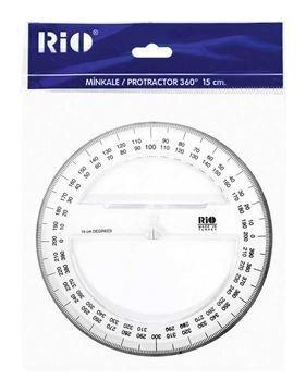 Mall Pensan Rio 360° 15cm läbipaistev 509 цена и информация | Värvimis- ja kirjutusvahendid | kaup24.ee