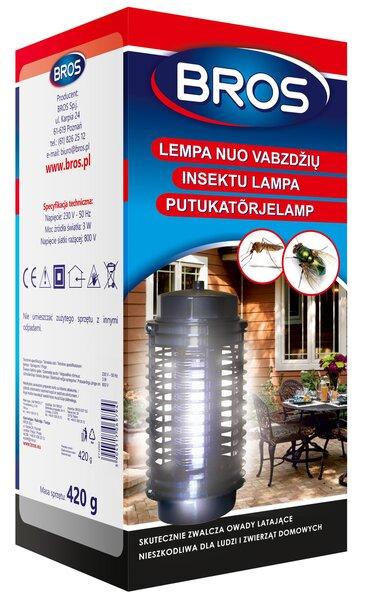 Putukatõrjelamp BROS цена и информация | Putukad | kaup24.ee