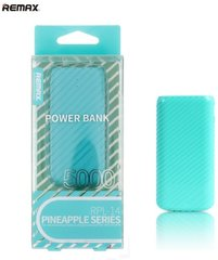 Akupank Remax Pineapple 5000mAh Power Bank + LED, münt