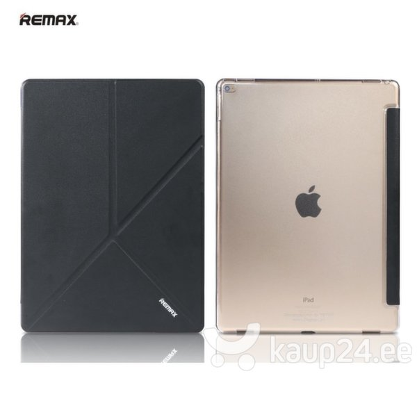 Kaitseümbris Remax Smart Ultra Slim sobib Apple iPad Air 2, must