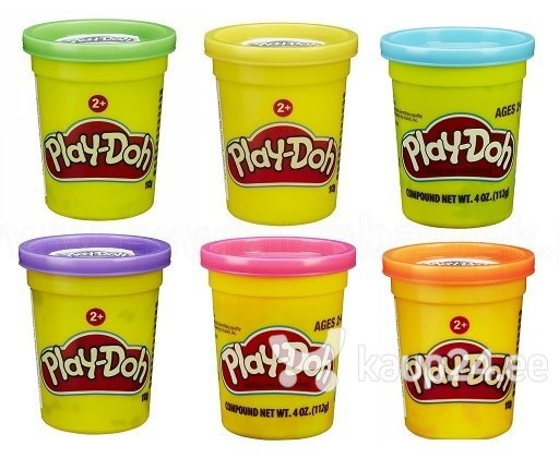 Plastiliin Play Doh Single Can, 1 tk., 112 gr., B6756EU4 цена и информация | Arendavad mänguasjad 3+ | kaup24.ee