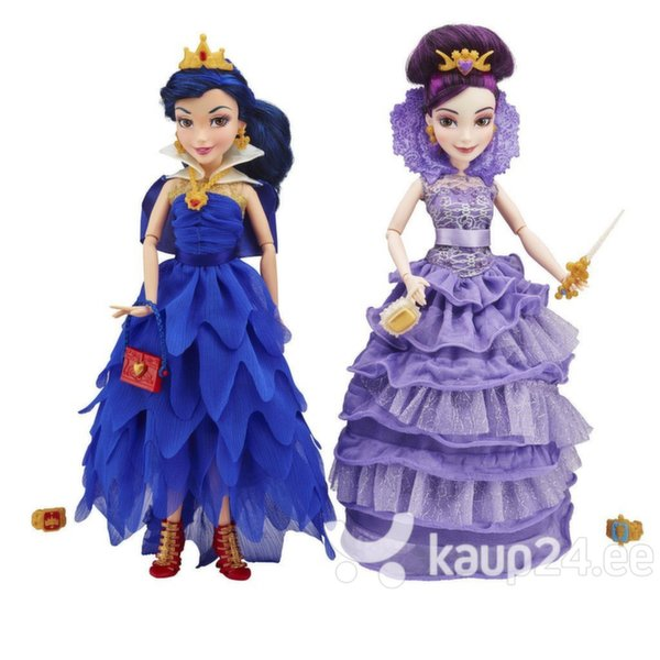 Kuninglikud nukud Mal&Evie Disney Descendants, 1 tk цена и информация | Tüdrukute mänguasjad | kaup24.ee