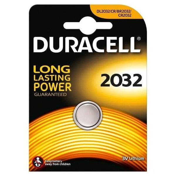 Patareid Duracell 2032, 1 tk