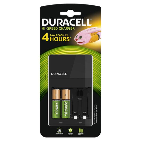Akulaadija Duracell CEF14 + 2 tk patareid AA (1300mAh) цена и информация | Akulaadijad | kaup24.ee