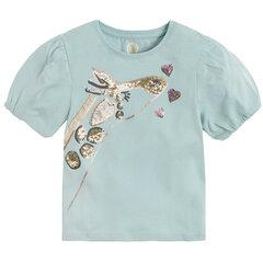 Tüdrukute lühikeste varrukatega pluus Cool Club, CCG2211289 hind ja info | Tüdrukute särgid | kaup24.ee