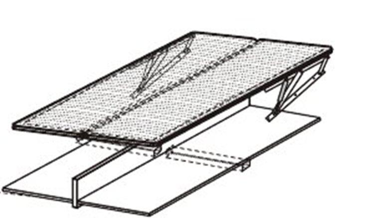 Voodilipid lahtikäivale voodile , 90x200 cm hind ja info | Voodipõhjad ja voodijalad | kaup24.ee