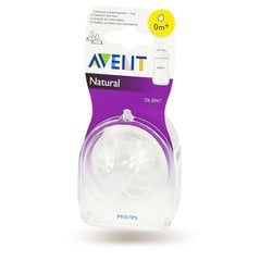 Lutipudeli lutt Philips Avent Natural mini, 0+​ kuud, 2 tk, 1/651