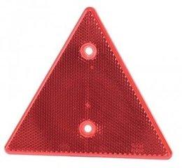 Kolmnurkne helkur, punane