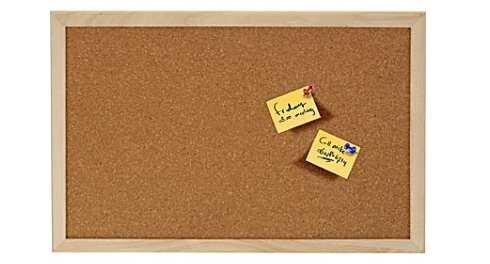 Korktahvel, 60x45 cm цена и информация | Värvimis- ja kirjutusvahendid | kaup24.ee