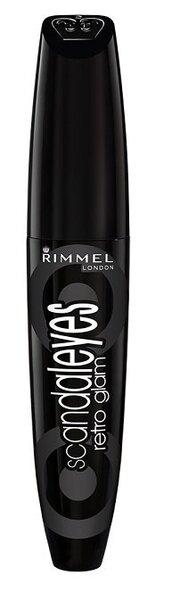 Тушь для ресниц Rimmel ScandalEyes Retro Glam 12 ml цена и информация | Silmadele | kaup24.ee