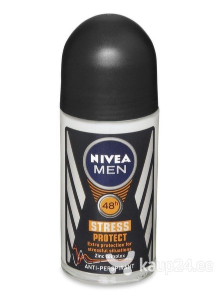 Meeste rulldeodorant Nivea Stress Protect Mini, 25 ml цена и информация | Deodorandid | kaup24.ee