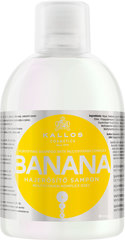 Juukseid tugevdav šampoon Kallos Banana Fortifying, 1000 ml