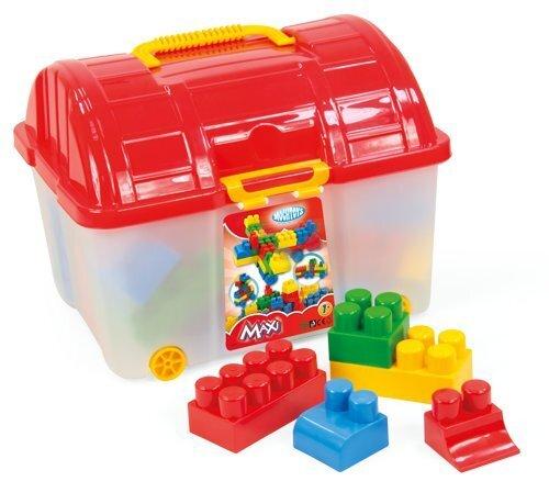 Конструктор с ящиком Mochtoys 50 деталей цена и информация | Kokkupandavad mänguasjad | kaup24.ee
