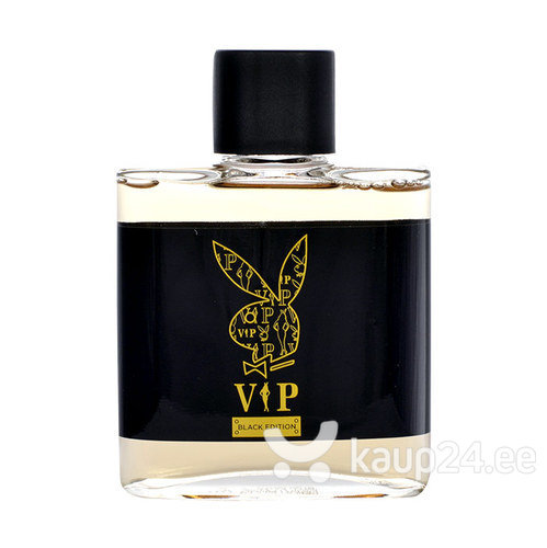 Raseerimisjärgne lõhnavesi Playboy VIP Black Edition meestele, 100 ml