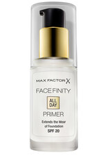 Основа под макияж Max Factor Facefinity All Day Flawless Primer, 30 ml