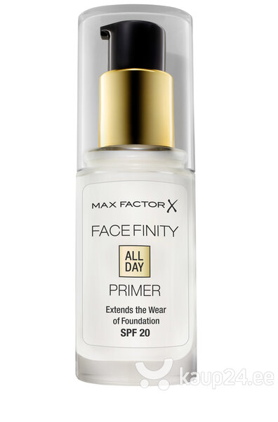 Основа под макияж Max Factor Facefinity All Day Flawless Primer, 30 ml цена и информация | Näole | kaup24.ee