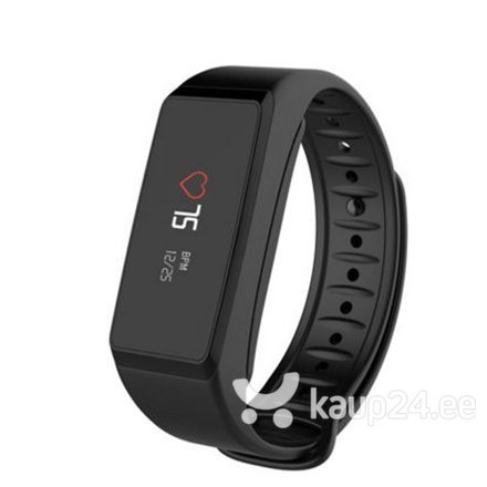 Nutikell MyKronoz ZeFit2 Pulse, must цена и информация | Nutikellad (Smart Watch) | kaup24.ee