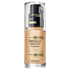 Jumestuskreem Max Factor Miracle Match 30 ml