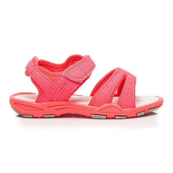 Tüdrukute sandaalid, roosa I цена и информация | Laste jalanõud | kaup24.ee