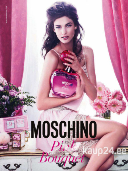Tualettvesi Moschino Pink Bouquet EDT naistele 50 ml Internetist