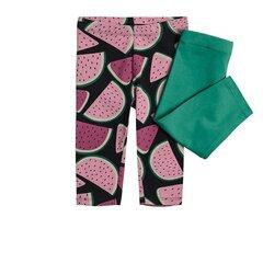 Cool Club retuusid tüdrukutele 3/4 pikkusega, 2 paari, CCG2213324-00 hind ja info | Tüdrukute lühikesed püksid | kaup24.ee