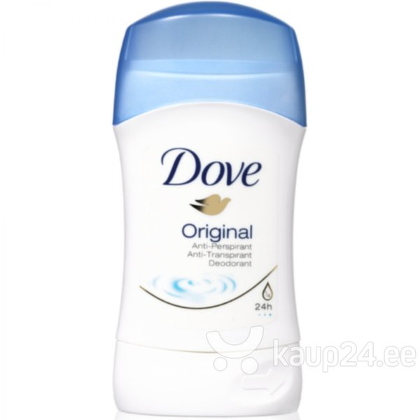 Pulkdeodorant Dove Original 40 ml цена и информация | Deodorandid | kaup24.ee