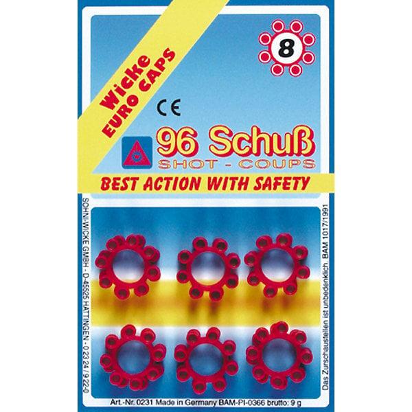 Padrunid Gonher guns 12, 8 tk, 960/8 цена и информация | Poiste mänguasjad | kaup24.ee