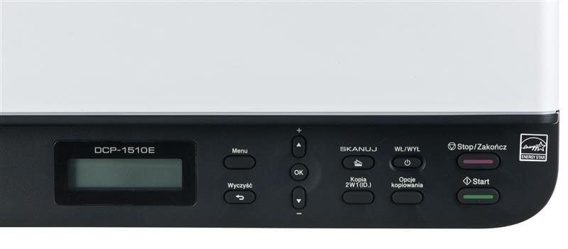 Mustvalge laser kombainseadme BROTHER DCP-1510E