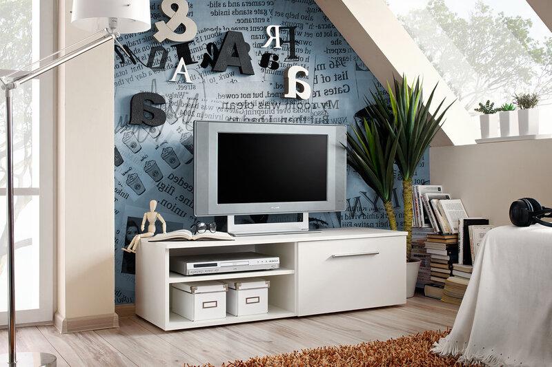 TV alus RTV Bono I, valge II цена и информация | TV alused | kaup24.ee