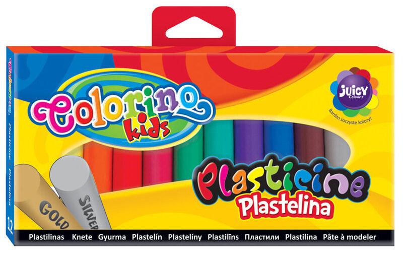 Plastiliin COLORINO, 12 värvi