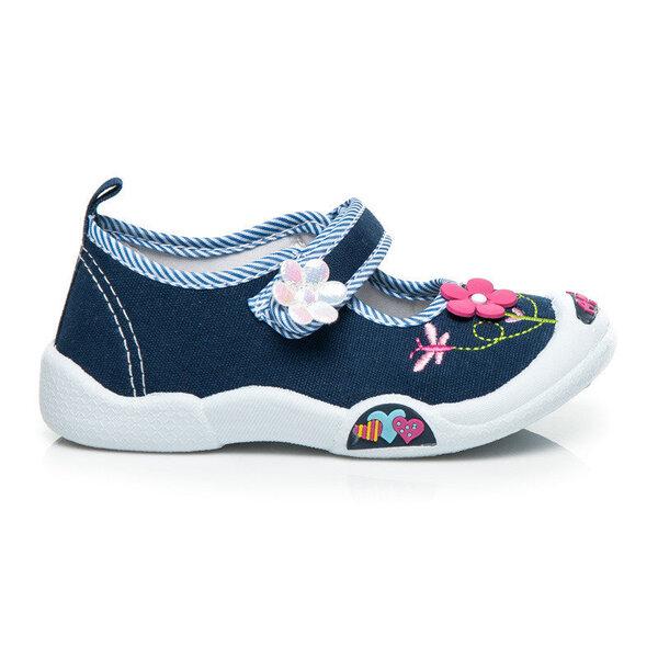 Tüdrukute sandaalid, sinine/valge цена и информация | Laste jalanõud | kaup24.ee