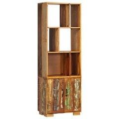 vidaXL raamaturiiul, 60 x 35 x 180 cm, toekas taastatud puit hind ja info | Riiulid | kaup24.ee