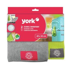 Mikrofiiberlapid YORK MAGNETIC, 2 tk