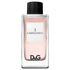 Tualettvesi Dolce & Gabbana 3 L'Imperatrice EDT naistele 100 ml