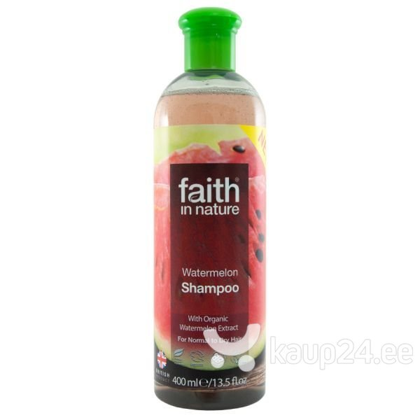 Arbuusiga šampoon Faith In Nature 400 ml цена и информация | Šampoonid | kaup24.ee