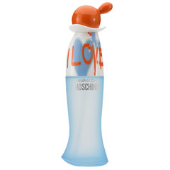 Tualettvesi Moschino Cheap & Chic I Love Love EDT naistele 100 ml