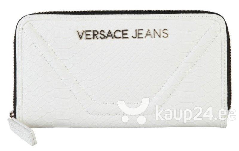 Naiste rahakott Versace Jeans, valge цена и информация | Rahakotid, kaarditaskud | kaup24.ee