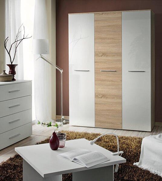 Riidekapp Big II, hele puit/valge цена и информация | Kapid | kaup24.ee