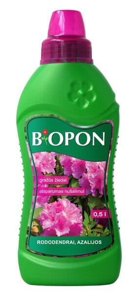 Vedelväetis rododendronitele, asaleadele BIOPON, 0,5 L