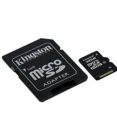 Kingston microSDHC 32GB Class10 + SD адаптер