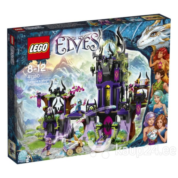 Klotsid LEGO™ Elves Ragana's Magic Shadow Castle​ 41180 цена и информация | Kokkupandavad mänguasjad | kaup24.ee
