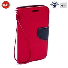 Kaitseümbris Telone Fancy Diary Bookstand sobib Huawei P8, punane/sinine hind ja info | Mobiili ümbrised, kaaned | kaup24.ee